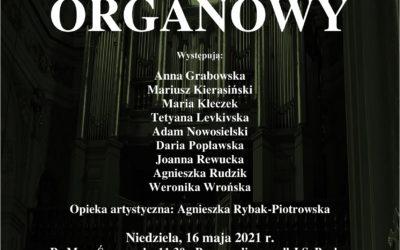 Zaproszenie na Koncert Organowy w naszym kościele